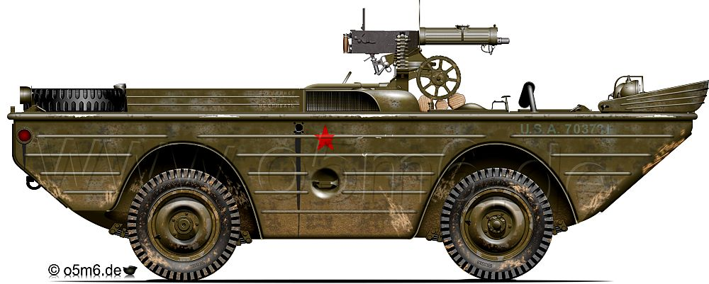 1//43 Ford GPA RKKA Belarus 1944 Armored car WWII tanque